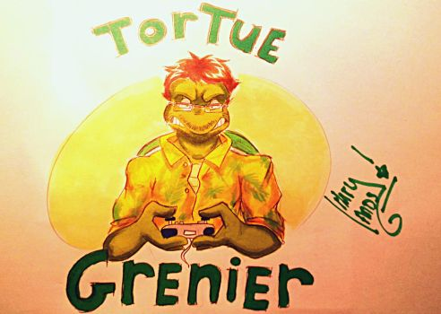 Tortue Grenier by MarylandsDrawing2525