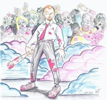 Shaun Of The Dead- Kique-style by kique-ass