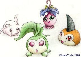 Old: Digimon: In-Trainings by LuLuLunaBuna