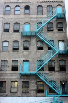 Fire Escape Blues by stacey-elle