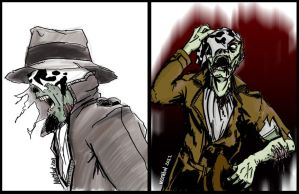 Rorschach Zombie by mothbot