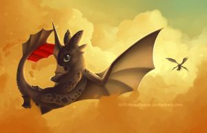 Toothless! by NezuPanda
