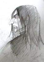 Snape by kissyushka