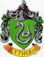 Slytherin Crest by tuliipiie