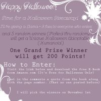 Halloween Points N Prizes Giveaway Contest by KyraStarr