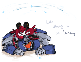 Like Sleeping in on Sunday by RC-Bike