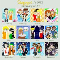 2012 Art Summary by Sagojyousartpage