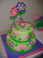 Victoria's Baby Shower Cake by Pagels