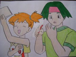 Misty and Tracey having fun by AJLeefan4life