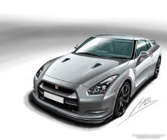 Nissan GT-R by Shinjeongho