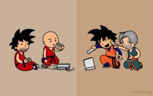 Dragon Ball Gaming by somezombie1