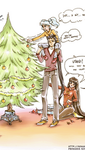 X-mas Preparations by unconventionalsenshi