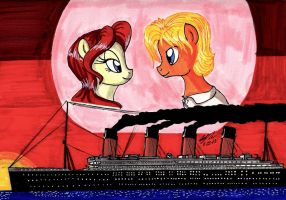 Titanic: Jack and Rose Crossover by newyorkx3