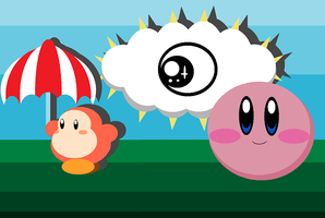 Speed MS Paint_Kirby by Shadow-Dinosaur