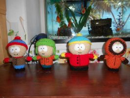 South Park Characters by aphid777