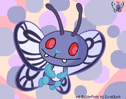 Butterfree as a HTF by SomeDumbDeviant