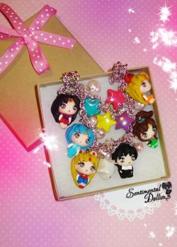 Kawaii Sailor Moon Crystal Necklace by SentimentalDolliez