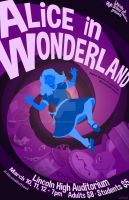 'Alice in Wonderland' Stage Poster by ZacPensol