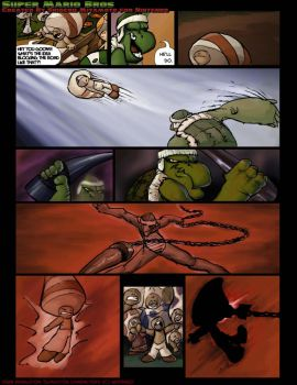 Mario Brothers page nine.. by ohTHATsean