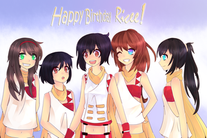 Collab: Happy Birthday Ricee! by Browniex