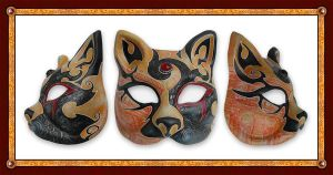 Mask of the Cat Queen by FatherStone