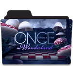 Once Upon a Time in Wonderland Folder Icon by efest