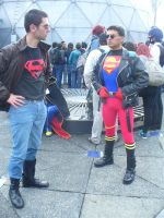 Superboy meets Superboy by eriksuperboy