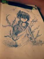 Zeref by Drawing-Heart