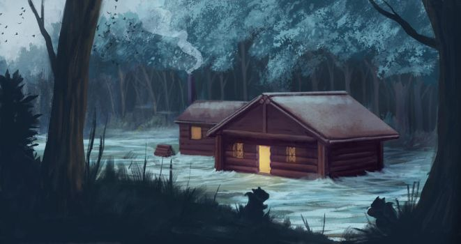 The Cabin by N8watcher