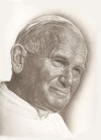 Pope John Paul II by brunobenglish