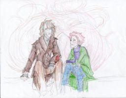 Tonks and Remus Love by burdge