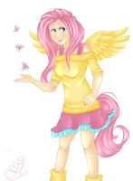 Fluttershy by NynjaKat