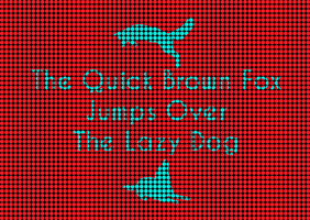 The Quick Brown Fox Jumps Over The Lazy Dog 4 by Envinite