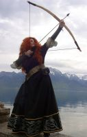 Merida cosplay 01 by Silver-Scale