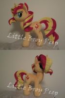 my little pony Sunset shimmer (commission) by Little-Broy-Peep