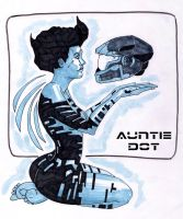 Auntie Dot by moonwildflower
