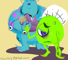 Monsters Inc. by chuchie7