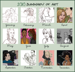 2010 Art Summary by artgyrl