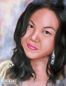 My portrait by Gege4U