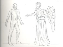 RWR vs Weeping Angel by theterriblezodin