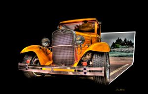 1934 Ford Coupe by jmotes