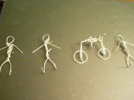 Paperclip People 1 by Liebatron