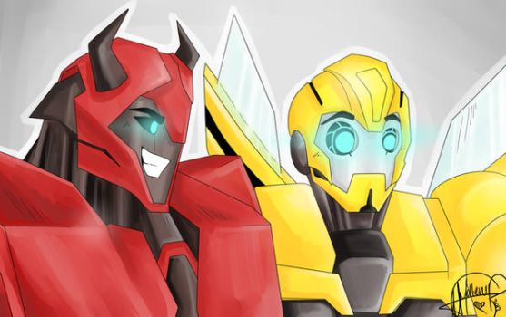 Cliff and Bee by Nemesis-Nexus