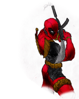 Deadpool 2 colored by Balla-Bdog