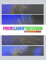 Four light textures by wondersmile