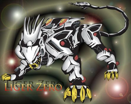 Liger Zero by PeterScarlet