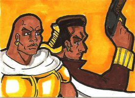 NOBLE MOOR AND CAPT ROGUE by RWhitney75