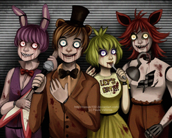 five nights at freddy's by Nasuki100