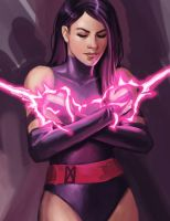 Psylocke - X-Men by irvintustin