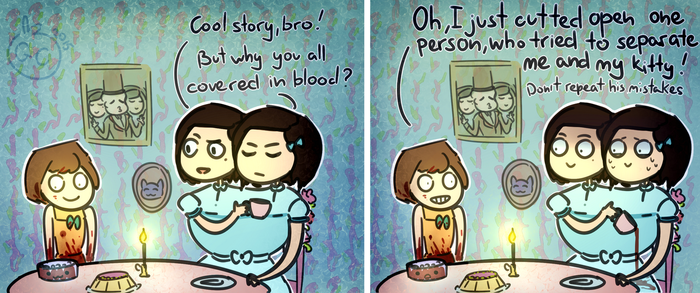 Fran Bow_Painful separation by goldencookie-nl